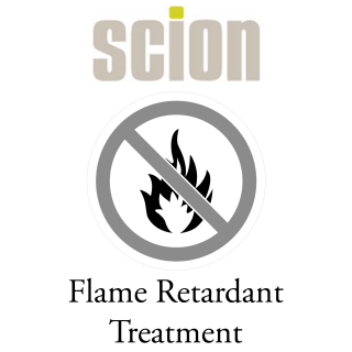 Scion Flame Retardant Treatment for fabric