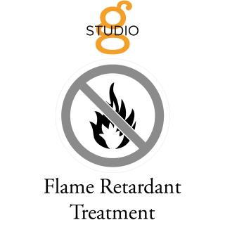 Studio G Flame Retardant Treatment for fabric