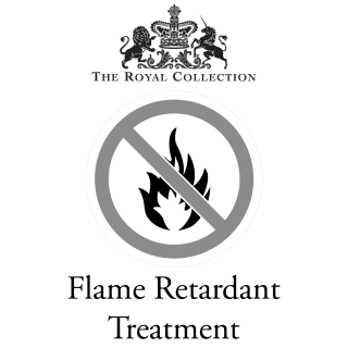 The Royal Collection Flame Retardant Treatment for fabric