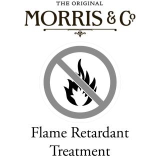 William Morris & Co Flame Retardant Treatment for fabric