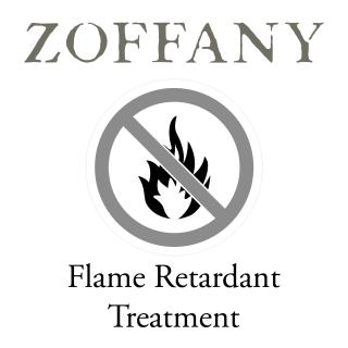 Zoffany Flame Retardant Treatment for fabric