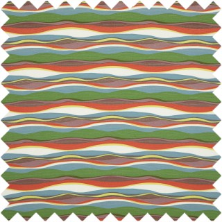 Mexican Wave Fabric PF50474.1 by Baker Lifestyle