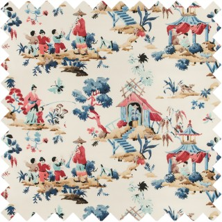 Luang Print Fabric 8019134.519 by Brunschwig & Fils