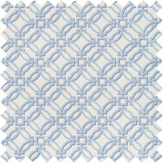 Salvy Print Fabric 8019136.15 by Brunschwig & Fils