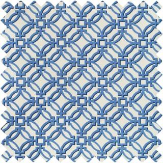 Salvy Print Fabric 8019136.55 by Brunschwig & Fils