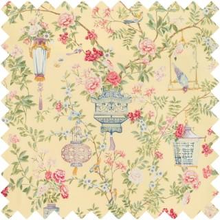 Jardin Fleuri Print Fabric 8019137.147 by Brunschwig & Fils