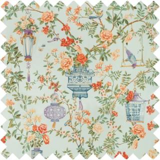 Jardin Fleuri Print Fabric 8019137.157 by Brunschwig & Fils