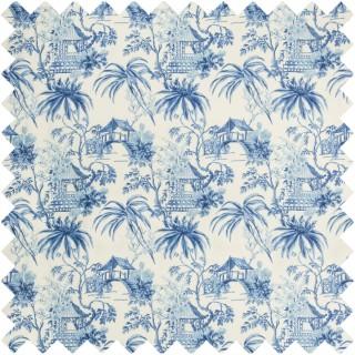 Tongli Print Fabric 8019138.55 by Brunschwig & Fils