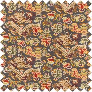 Ming Dragon Print Fabric 8019140.219 by Brunschwig & Fils