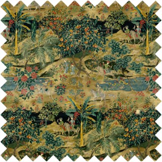 Ramayana Velvet Fabric BP10832.2 by GP & J Baker