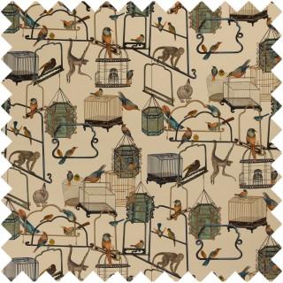 GP & J Baker Cosmopolitan Menagerie Velvet Fabric Collection BP10591.1