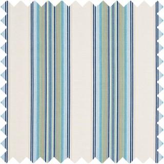 GP & J Baker Crayford Print Paxton Stripe Fabric Collection BF10453.725