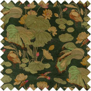 Nympheus Velvet Fabric BP10814.2 by GP & J Baker
