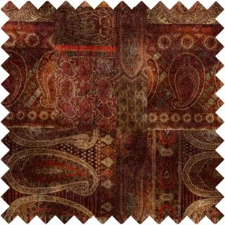 Mulberry Home Bohemian Romance Lomond Velvet Fabric Collection FD265.V106