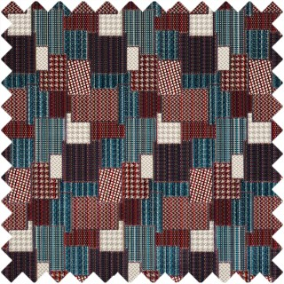 Mulberry Home Bohemian Travels Bohemian Patchwork Fabric Collection FD747.G103