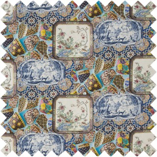 Mulberry Home Bohemian Travels Mulberry China Linen Fabric Collection FD276.Y101