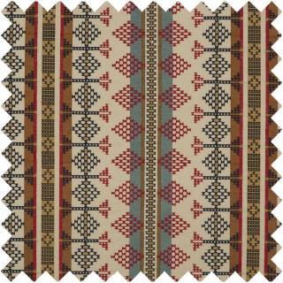 Mulberry Home Bohemian Travels Saddle Blanket Fabric Collection FD737.G103