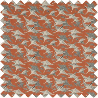 Mulberry Home Bohemian Travels Wild Geese Linen Fabric Collection FD287.T30