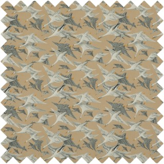 Mulberry Home Bohemian Travels Wild Geese Velvet Fabric Collection FD288.N102