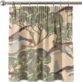 Mulberry Home Country Weekend Flying Ducks Velvet Fabric Collection FD258.L102