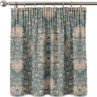 Faded Tapestry Fabric FD782.R122 by Mulberry Home