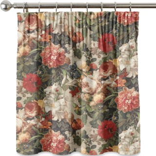 Floral Pompadour Fabric FD301.T30 by Mulberry Home