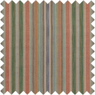 Rustic Stripe Fabric FD784.T30 by Mulberry Home
