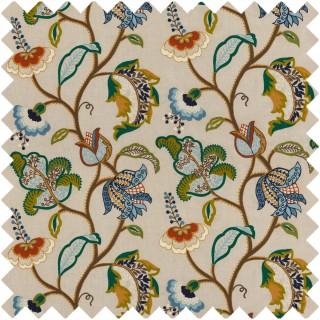Maxton Fabric FD787.R122 by Mulberry Home