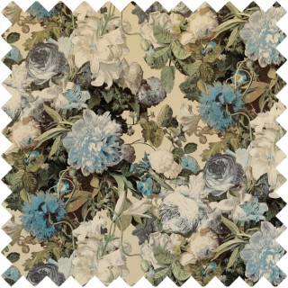 Floral Pompadour Fabric FD315.S108 by Mulberry Home
