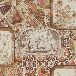 Mulberry Home Wallpaper Bohemian Mulberry China Collection FG080.V54