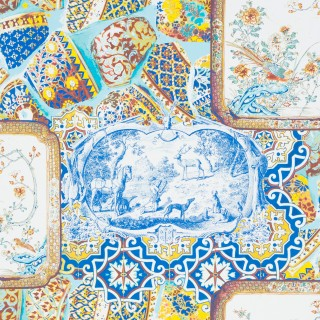 Mulberry Home Wallpaper Bohemian Mulberry China Collection FG080.Y101