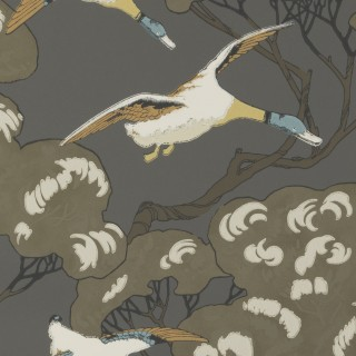 Mulberry Home Flying Ducks Wallpaper FG090.A101