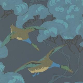 Mulberry Home Flying Ducks Wallpaper FG090.H10