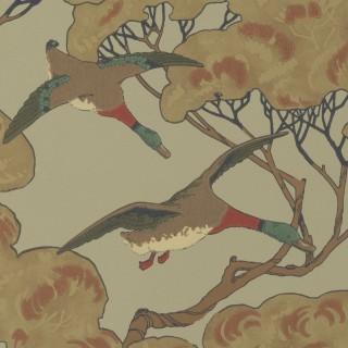 Mulberry Home Flying Ducks Wallpaper FG090.H22