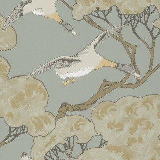 Mulberry Home Flying Ducks Wallpaper FG090.H54