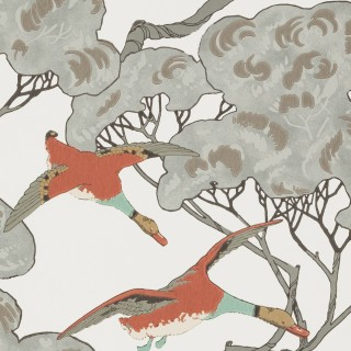 Mulberry Home Flying Ducks Wallpaper FG090.J87