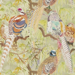 Mulberry Home Game Birds Wallpaper FG085.Y101