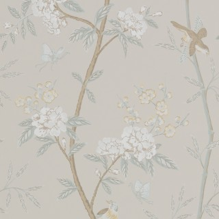 GP & J Baker Wallpaper Langdale Peony & Blossom Collection BW45066.3