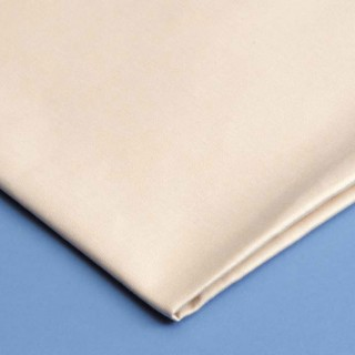 Curtain Lining Fabric Cotton Sateen Ivory Flame Retardant FR