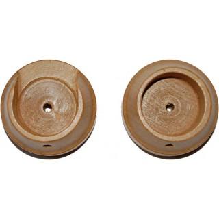 Rolls Woodline 35mm Light Oak Effect Recess Brackets