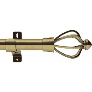 Swish Design Studio Consort 28mm Antique Brass Eyelet Curtain Pole