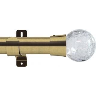 Swish Design Studio Gossamer 35mm Antique Brass Eyelet Curtain Pole