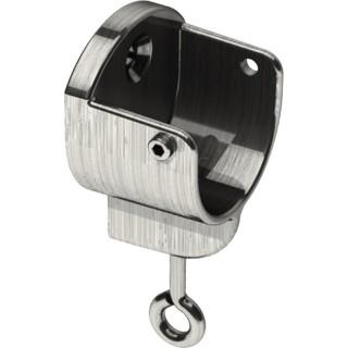 Swish Design Studio 28mm Satin Steel Effect Recess Bracket (Pack of 1)