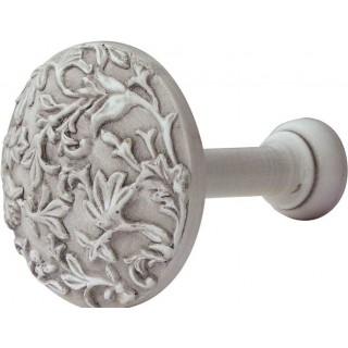 Rolls Modern Country 45-55mm Brushed Ivory Floral Holdback