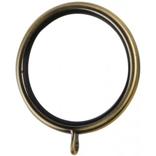 Museum Galleria 50mm Burnished Brass Effect Lined Rings