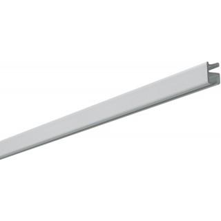 Silent Gliss System 1090 White Effect Aluminium Curtain Track