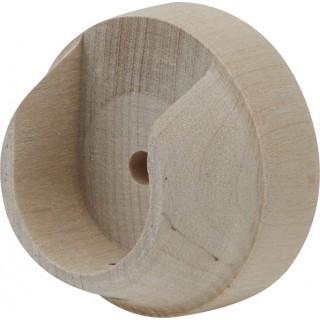 Rolls Unfinished 28mm Wood Recess Brackets