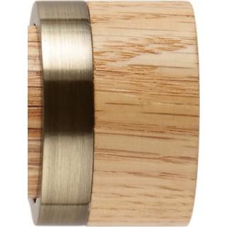 Rolls Neo 35mm Oak Stud Spun Brass Finials (Pair)