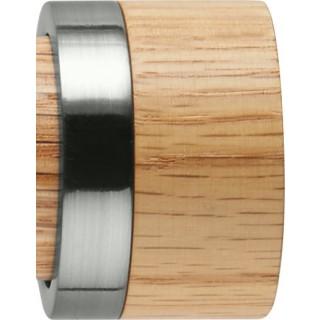 Rolls Neo 35mm Oak Stud Stainless Steel Finials (Pair)