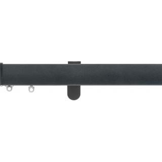 Silent Gliss 6100 Metroflat 36mm Gunmetal Effect Aluminium Curtain Track